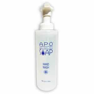 APO Zeep fles 240 ml, hypoallergene foam zeep